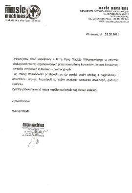 Referencje Dj na wesele Warszawa