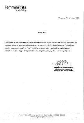 Referencje wodzirej Warszawa